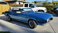 1968 Firebird Convertible 350 HO 4 speed