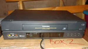 Toshiba VHS Recorder and player