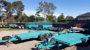 FOR RENTAL CAR TRAILERS 12X6 8X5 6X4 CAGE RAMP BIKE TRAILERS BOOK Kemps Creek Penrith Area Preview