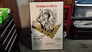 """Framed """"Harold and Maude"""" Poster"""