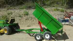 Mini Hydraulic dump Trailer