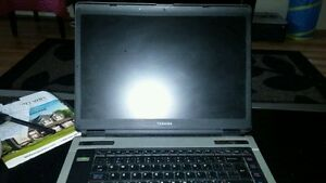 """Toshiba 15"""" Satellite A100 running on Windows10"""