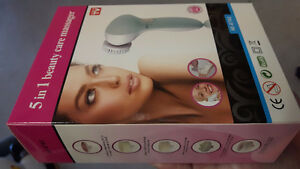 NEW 5 in 1 Facial Massager/cleanser