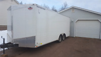 I have empty enclose trailer going from saint john to moncton