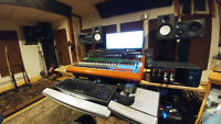 Professional Recording Studio in Rural Setting