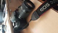 Canon EOS Rebel T4i uagé parfait ordre avec 2 lentilles