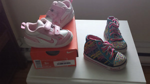 Girls size 5 shoes & boots
