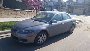 2008 Mazda6 fully loaded sedan, low kilometers, mint condition