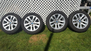 BMW mags and Michelin summer tires