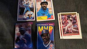 Andre Dawson MLB cards(7)