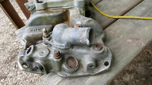 vintage small block chevy edelbrock intake manifold