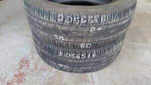 Pair of 2 Michelin Premier AS 205/65R16 tires (40% tread life)