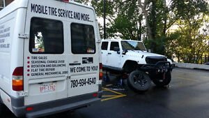 TIRES MOBILE SERVICES WE COME AT YOUR PLACE
