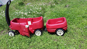 Step2 - Wagon For Two And Tag-along Trailer