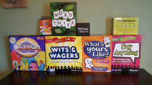 Board games $25 for all. Will sell separately