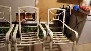 4 patio chairs Kitchener / Waterloo Kitchener Area image 2