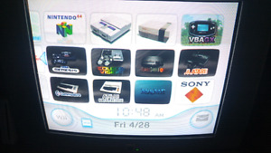 Modded Wii for sale