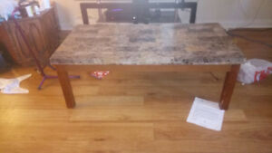 Coffee Table and Kitchen Table