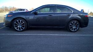 2012 Acura TSX Tech GPS Graphite Mags TLX + pneus/rims d'hiver