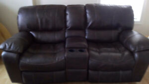 RECLINING DOUBLE LOVE SEAT SOFA