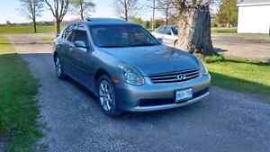 Infiniti G35x Awd car for sale Cambridge Kitchener Area image 2