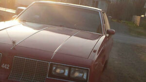 1985 Oldsmobile Cutlass 442 Coupe (2 door)