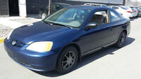 2002 Honda Civic DX-G Coupé     ***TPS ET TRANSIT INC