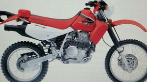 Looking for a Honda XR650L in excellent condition