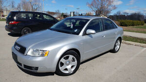 2005 Audi A4 1.8 Turbo Quattro in mint condition only 82,620km