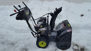 Snowblower in good working condition. Maintained /needs no work.