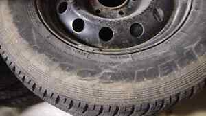Open Country Snow Tires 225/70/16 Peterborough Peterborough Area image 1