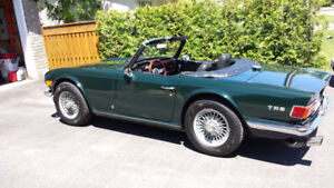 1971 Triumph TR6. Asking $19000 or best offer.