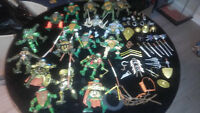 TMNT Lot ( figures,weapons,playset and vehicles)
