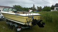 1980 18 foot Grew  with 250 Chev engine 165 drive mercruiser