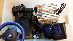 PS2, games, accessories