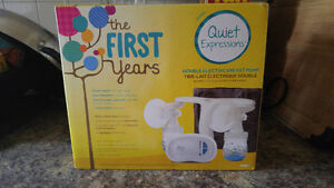 The First Years Quiet Double Electric Brest Pump Never Opened!