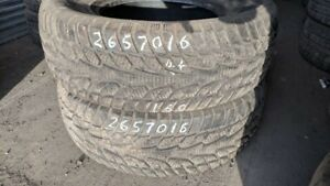 Pair of 2 Mirage MR W662 265/70R16 WINTER tires (85% tread life)