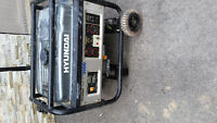 Hyundai 3500w generator for sale