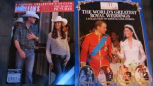 Worlds Greatest Royal Weddings magazines(2)