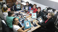 FURNITURE CHALK PAINTING CLASS - TAKE HOME A CHALKBOARD/FRAME