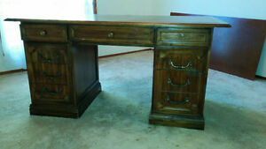 Executive Desk  All wood construction