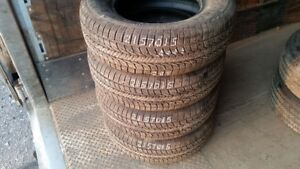 Set of 4 General Altimax RT43 215/70R15 tires (95% tread life)