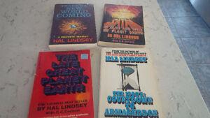 4 Books: Hal Lindsey Kitchener / Waterloo Kitchener Area image 1