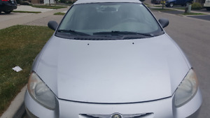 2002 Chrysler Sebring Sedan, e tested, low mileage, clean
