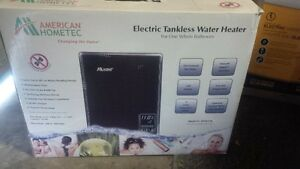 Electric Tankless Water Heater for One Whole Bathroom