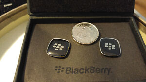 BlackBerry branded cuff links in gift box