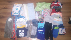Assorted baby clothes n items