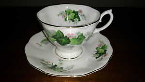 Bone China cups and saucers and creamer and sugar REDUCED Sarnia Sarnia Area image 6