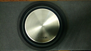 Clarion Vehicle DVD Deck, Sub, Box, Amp and More. Full Stereo!