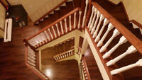 Professional Hardwood Installer Available.